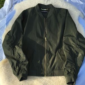 Express olive color light Weight Women's jacket L